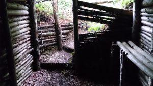 La cache de Georges Guingouin et des maquisards du Limousin à Chateauneuf-la-Forêt au pied du Mont Gargan.
