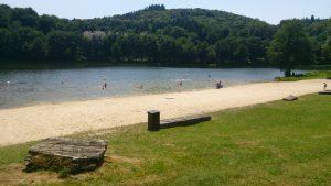 Plan d'eau de Sussac le lac