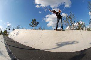 La vague, skate performance et de démonstration